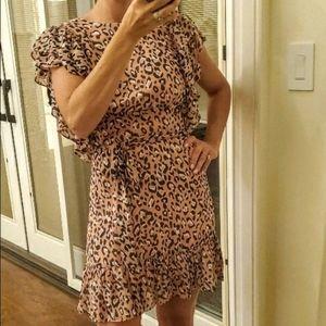 Pink leopard dress - PRICE DROP!!